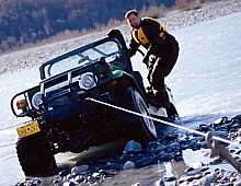 Rescue on the Knik River Alaska